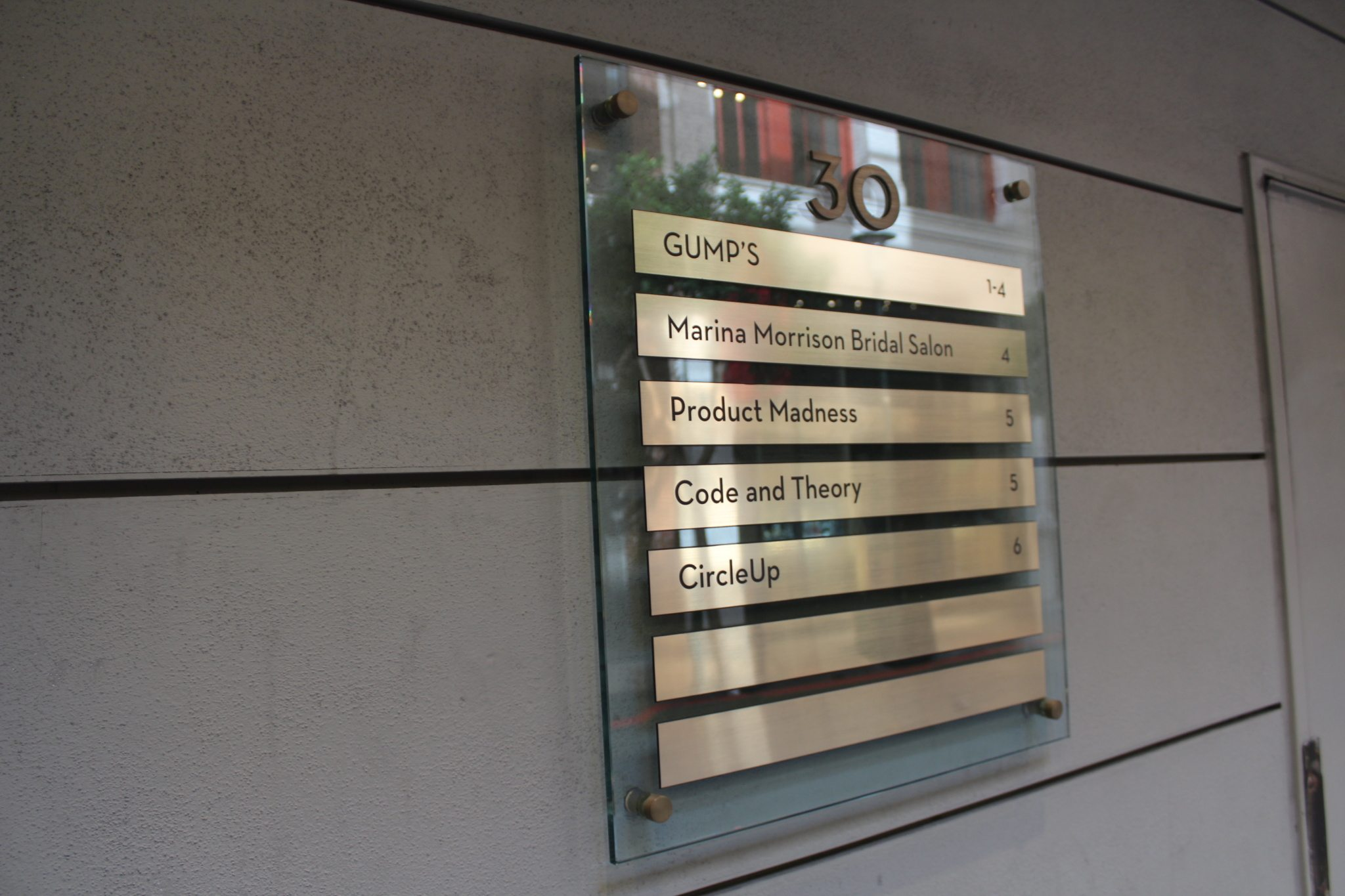 Directory Signs By M2m Signworks Markham Toronto